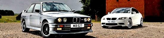 1986 BMW M3 vs 2010 BMW M3