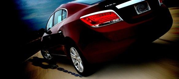 2011 Buick LaCrosse rear end txGarage