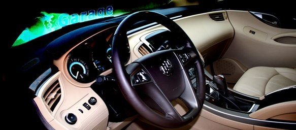 interior of the 2011 Buick LaCrosse by txGarage