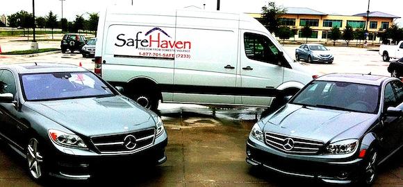 Mercedes-Benz Financial Services donation of Sprinter Van to SafeHaven