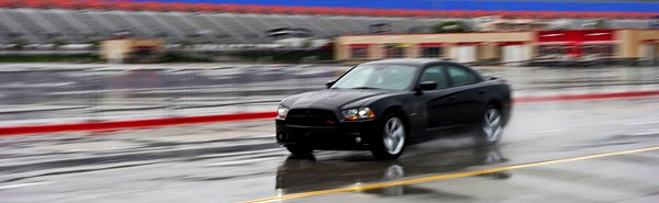 2011 Dodge Charger RT on the Track
