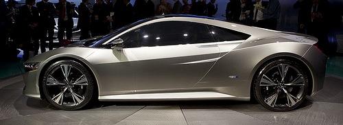 2012 NAIAS - Acura NSX Concept