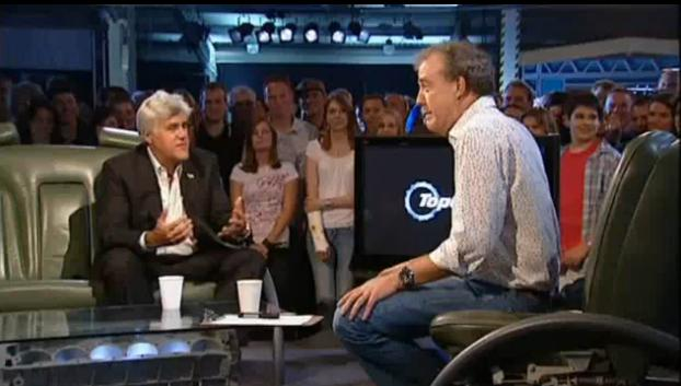 Jay Leno on BBC's Top Gear