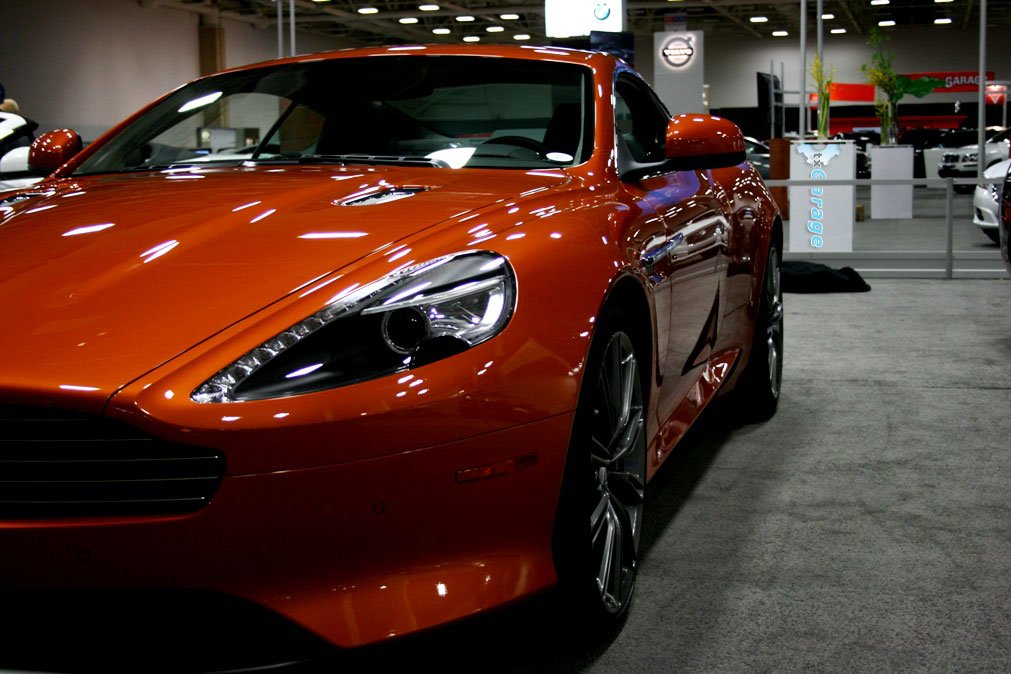 Aston Martin Vanquish at the Dallas Auto Show by txGarage
