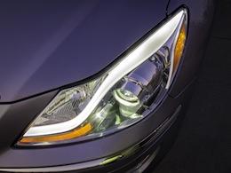 2012 Hyundai Genesis Sedan R-Spec 5.0 V8 headlight