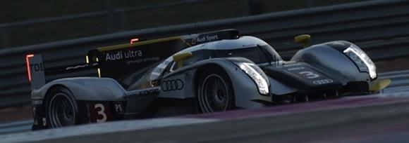 Audi R18 TDI Le Mans Race Car
