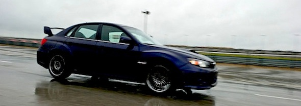 2011 Subaru WRX STi at the Texas Auto Roundup