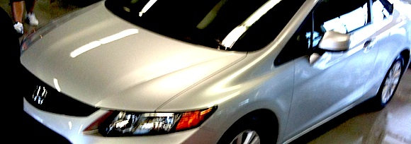2011 Honda Civic at the Texas Auto Roundup