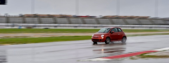 2012 Fiat 500 at the Texas Auto Roundup