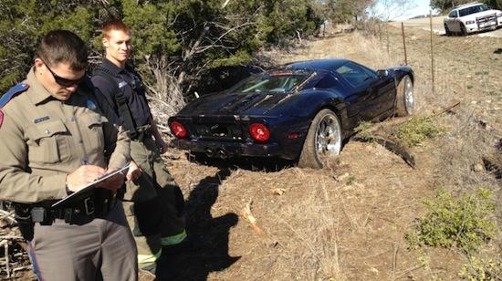 Jesse James Wrecks Supercar In Austin Txgarage
