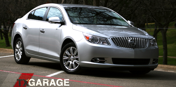 2012 Buick LaCrosse with eAssist reviewed by txGarage