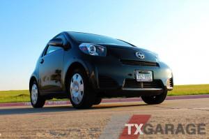 2012 Scion iQ - a small car in a big state -