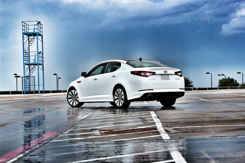 Perfect 2012 Kia Optima SX Turbo By TxGarage