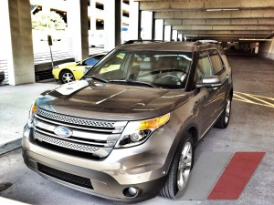 2012 Ford Explorer LTD in the garage at txGarage