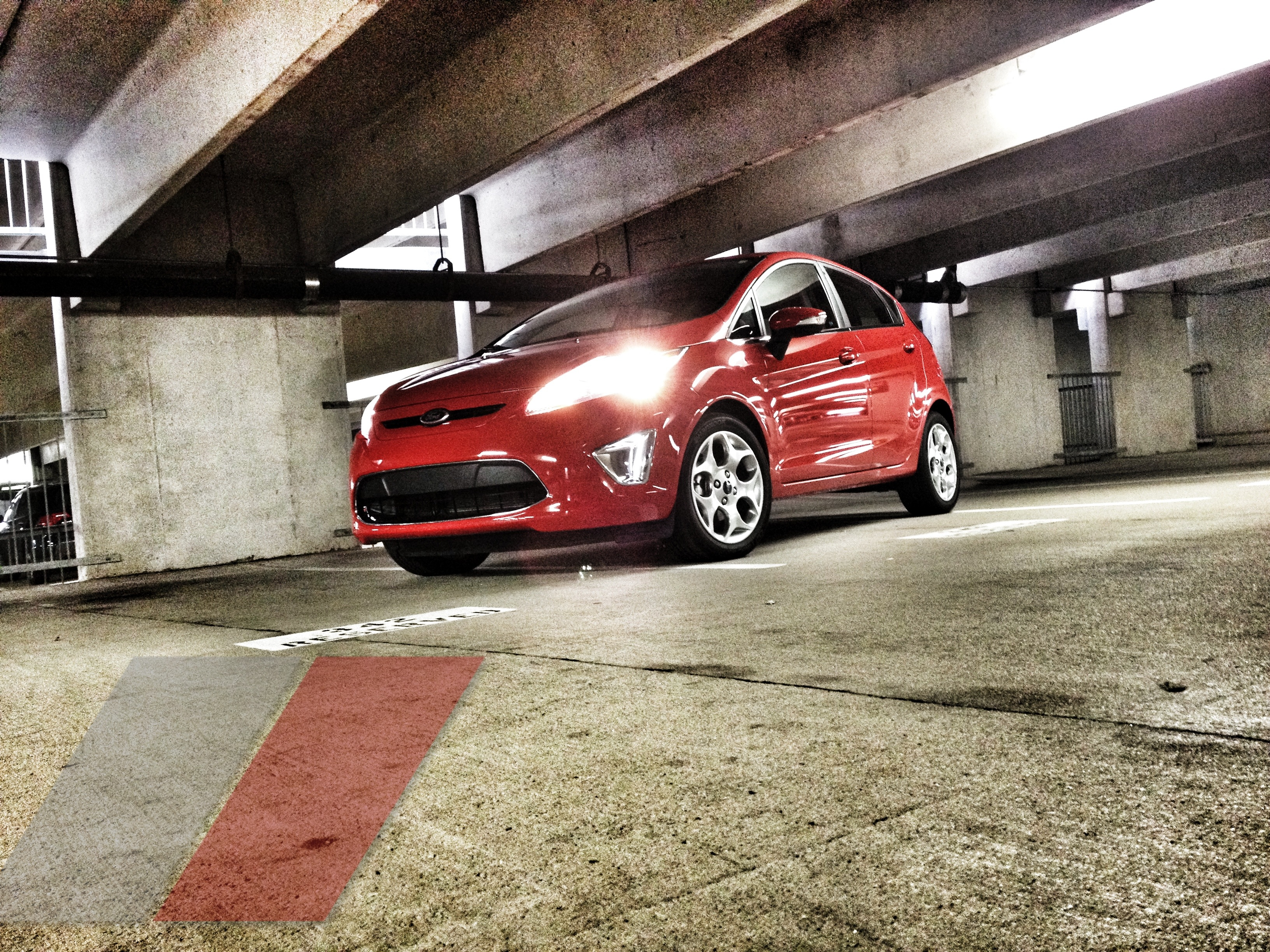 2012 Ford Fiesta SES Hatch in the garage at txGarage