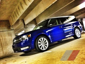 2013 Ford Flex SEL in the garage at txGarge
