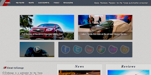 txGarage - v5 -2012 - web design