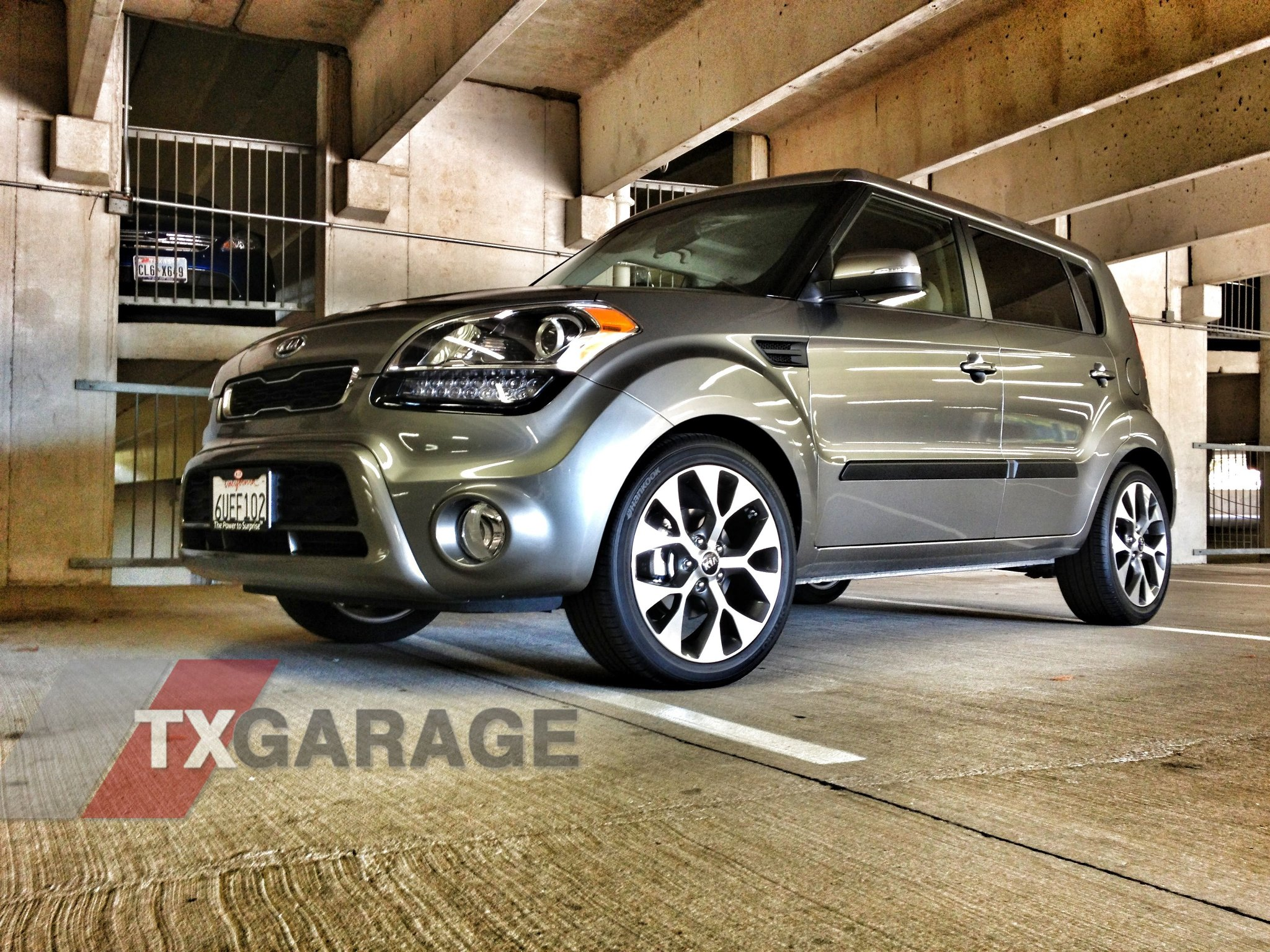 2012 Kia Soul in the Garage