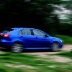 2011 Mitsubishi Lancer Ralliart hatch - Off road racing by txGarage