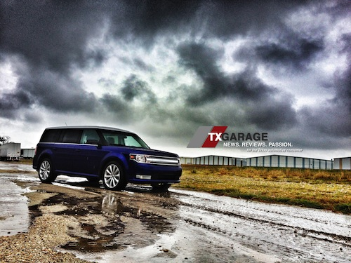 2013 Ford Flex by txGarage 3-row 8-passenger SUV - great for Texas families -