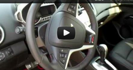 2013 Chevrolet Sonic RS launch San Francisco