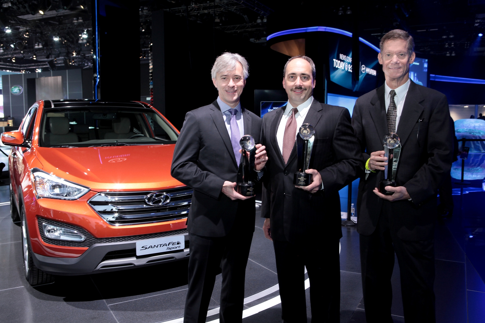 HYUNDAI RECEIVES THREE ALG RESIDUAL VALUE AWARDS