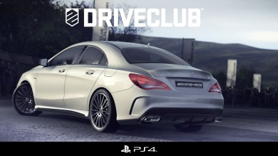 DriveClub for Playstation 4 and the CLA 45 AMG