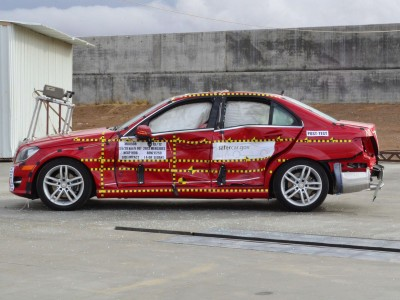 2013 Mercedes-Benz C-Class NHTSA 5-Star Crash Test