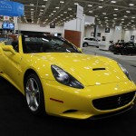 Ferrari California at the 2013 Dallas Auto Show