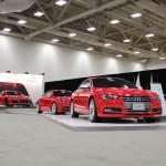 Audi's Performance lineup - lined up on the floor at the Dallas Auto Show