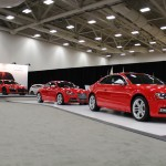 Audi Performance line - lined up at the 2013 Dallas Auto Show