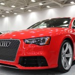2013 Audi RS5 at the Dallas Auto Show