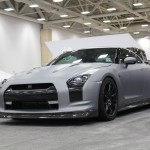 Wrapped Nissan GT-R at the Dallas Auto Show