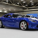 2014 SRT Viper GTS on the floor at the Dallas Auto Show