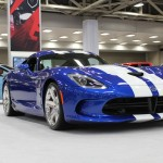 All-New 2014 SRT Viper GTS on the floor at the Dallas Auto Show