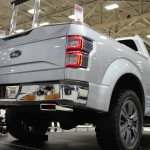 Backside of the Ford Atlas Concept at the 2013 Dallas Auto Show