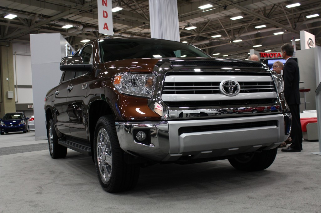 2014 Toyota Tundra on display at the Dallas Auto Show