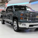 2014 Chevrolet Silverado at the Dallas Auto Show
