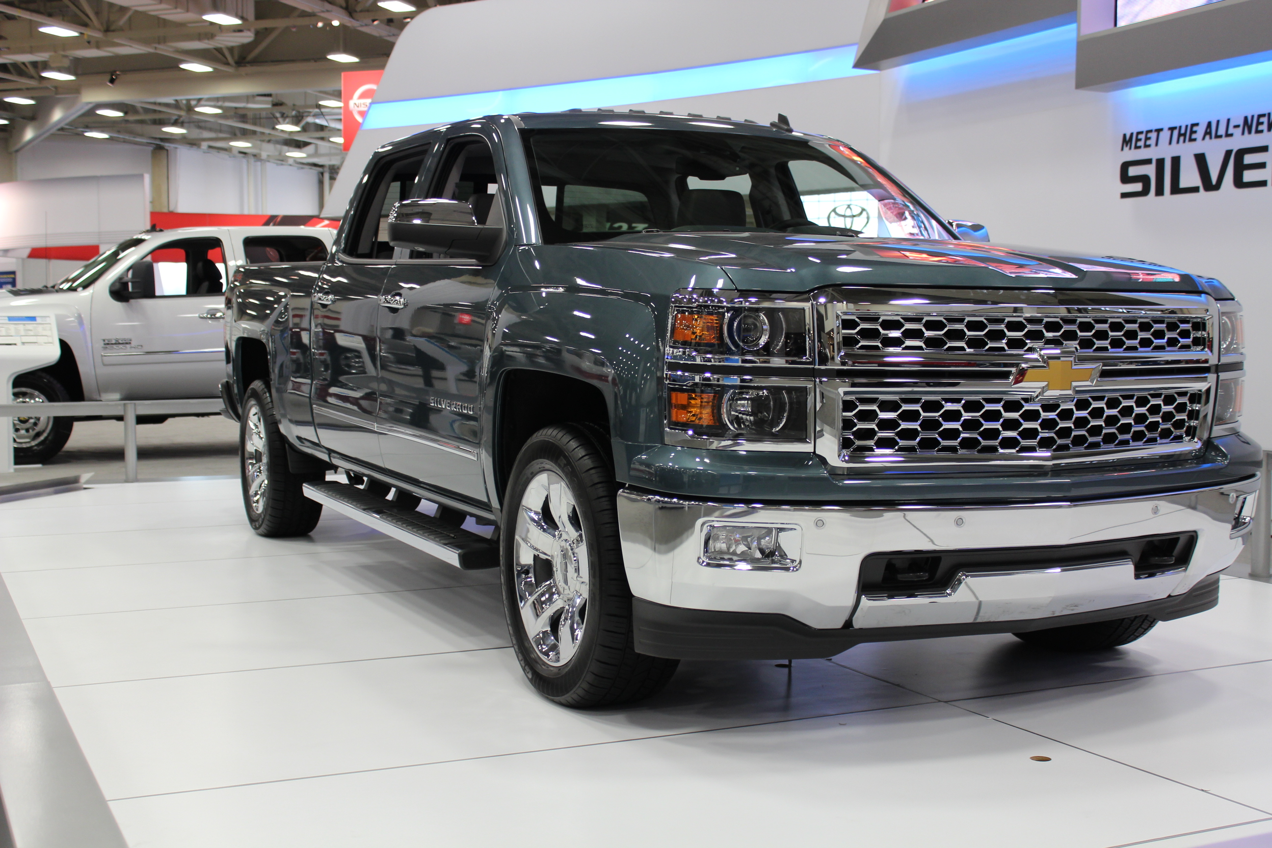 2014 Chevrolet Silverado At The Dallas Auto Show Txgarage