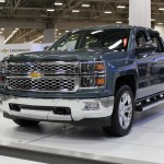2014 Chevrolet Silverado 1500 on display at the Dallas Auto Show