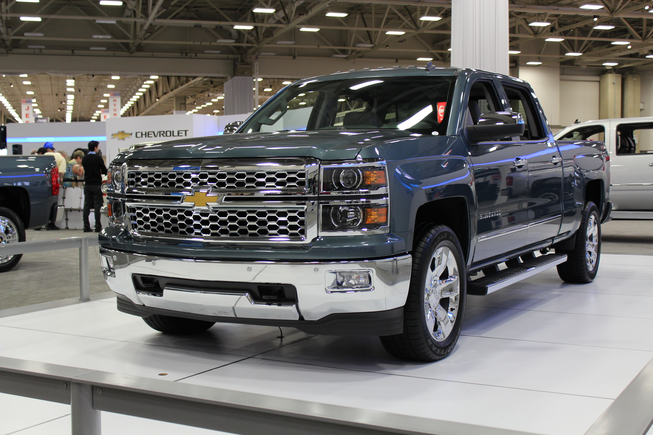2014 Chevrolet Silverado 1500 On Display At The Dallas Auto