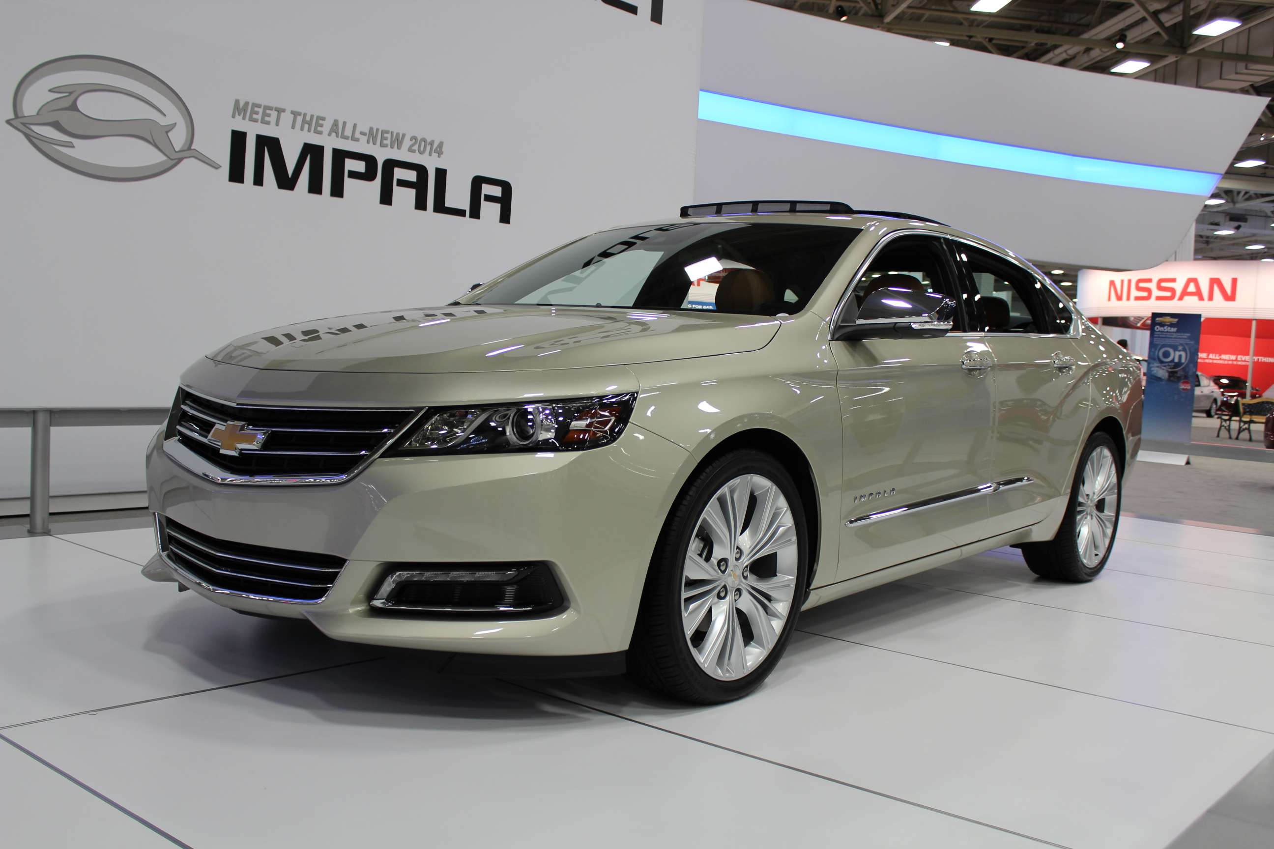 2014 Chevrolet Impala On Display At The Dallas Auto Show