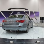 2014 Infiniti Q50 on display at the Dallas Auto Show