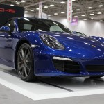 2013 Porsche Boxster on display at the Dallas Auto Show