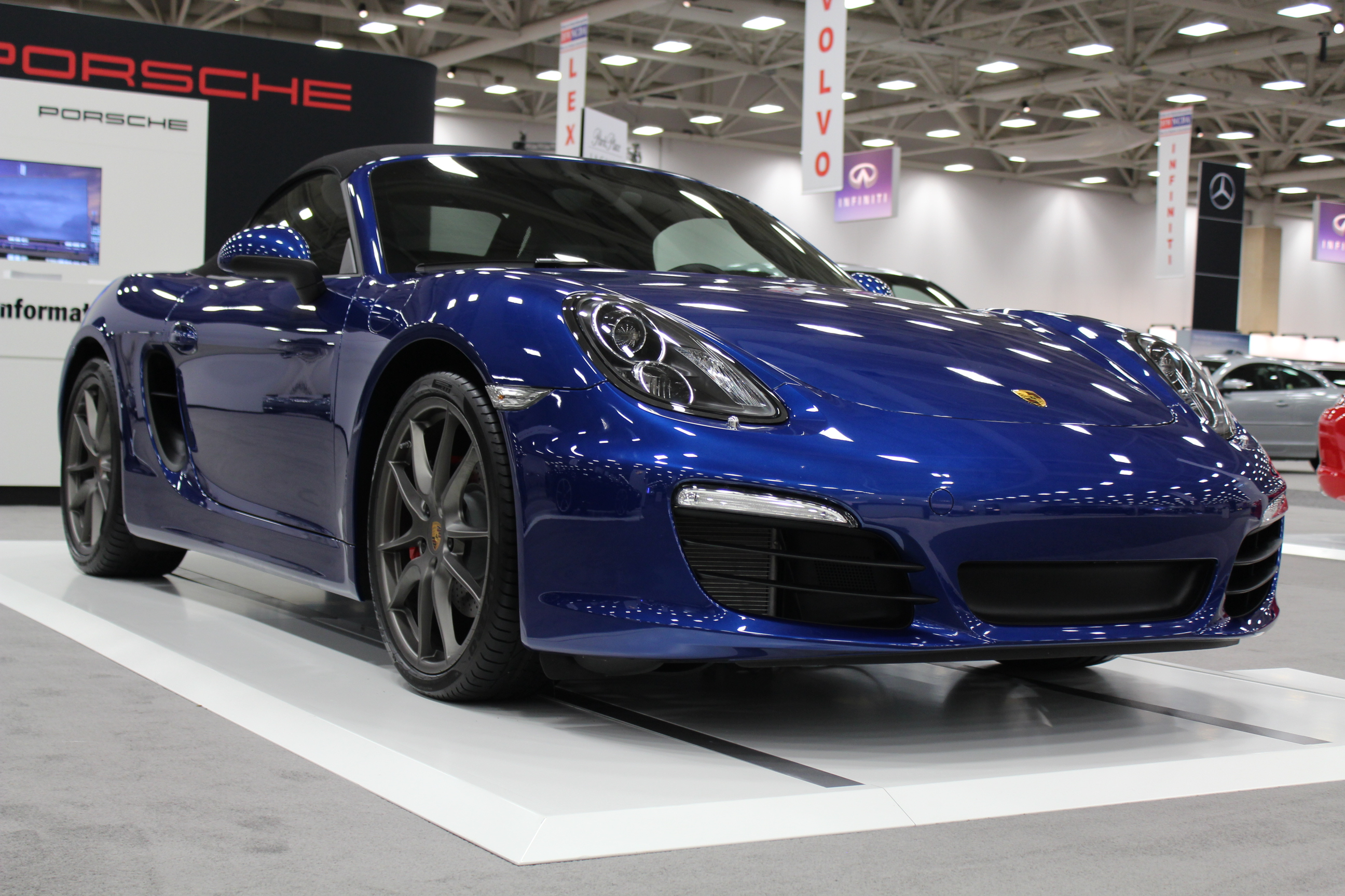 Dallas Auto Show >> 2013 Porsche Boxster On Display At The Dallas Auto Show Txgarage