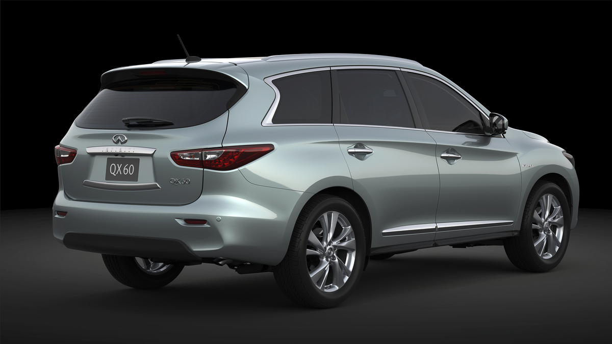 Infiniti Announces New Hybrid Version of 2014 Infiniti QX60 Prem