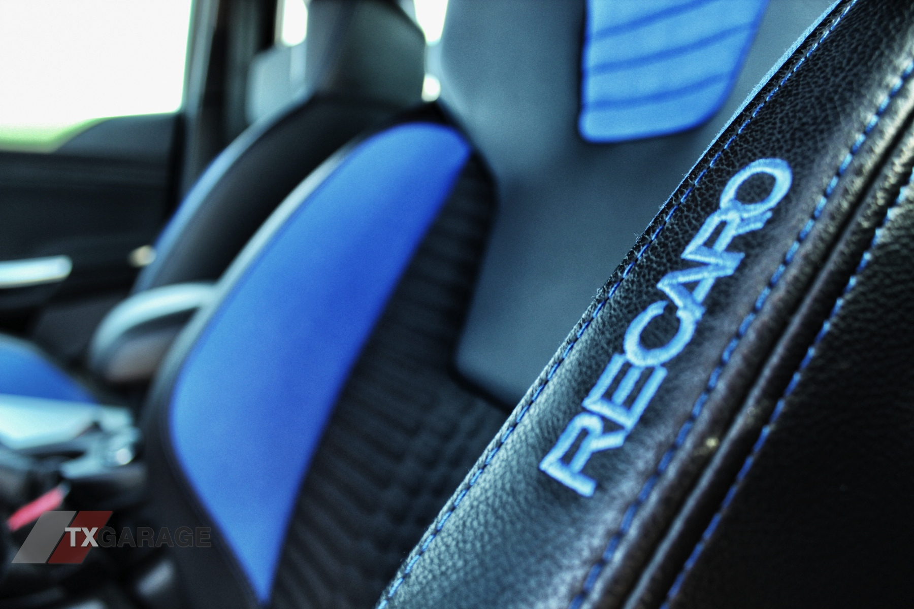 2013 Ford Focus ST Interior RECARO seats