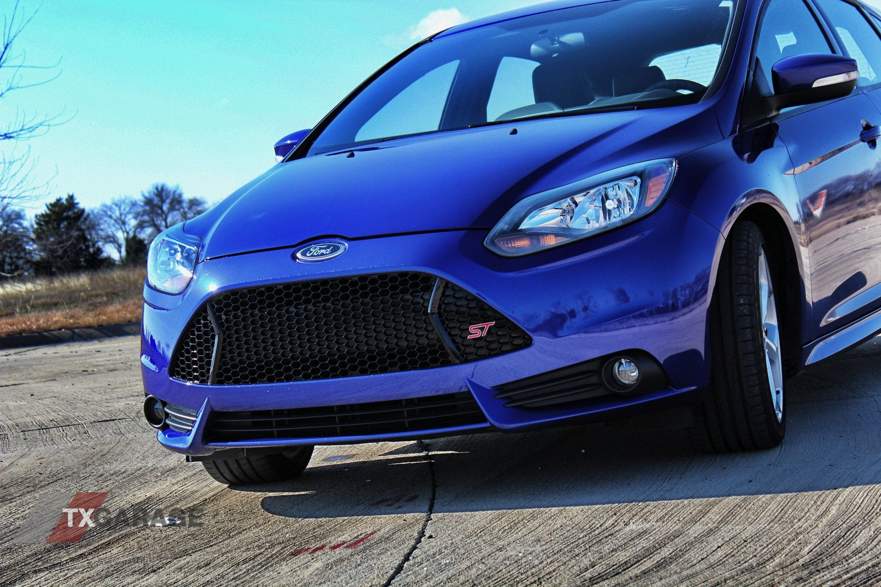 full review of the 2013 ford focus st txgarage. Black Bedroom Furniture Sets. Home Design Ideas