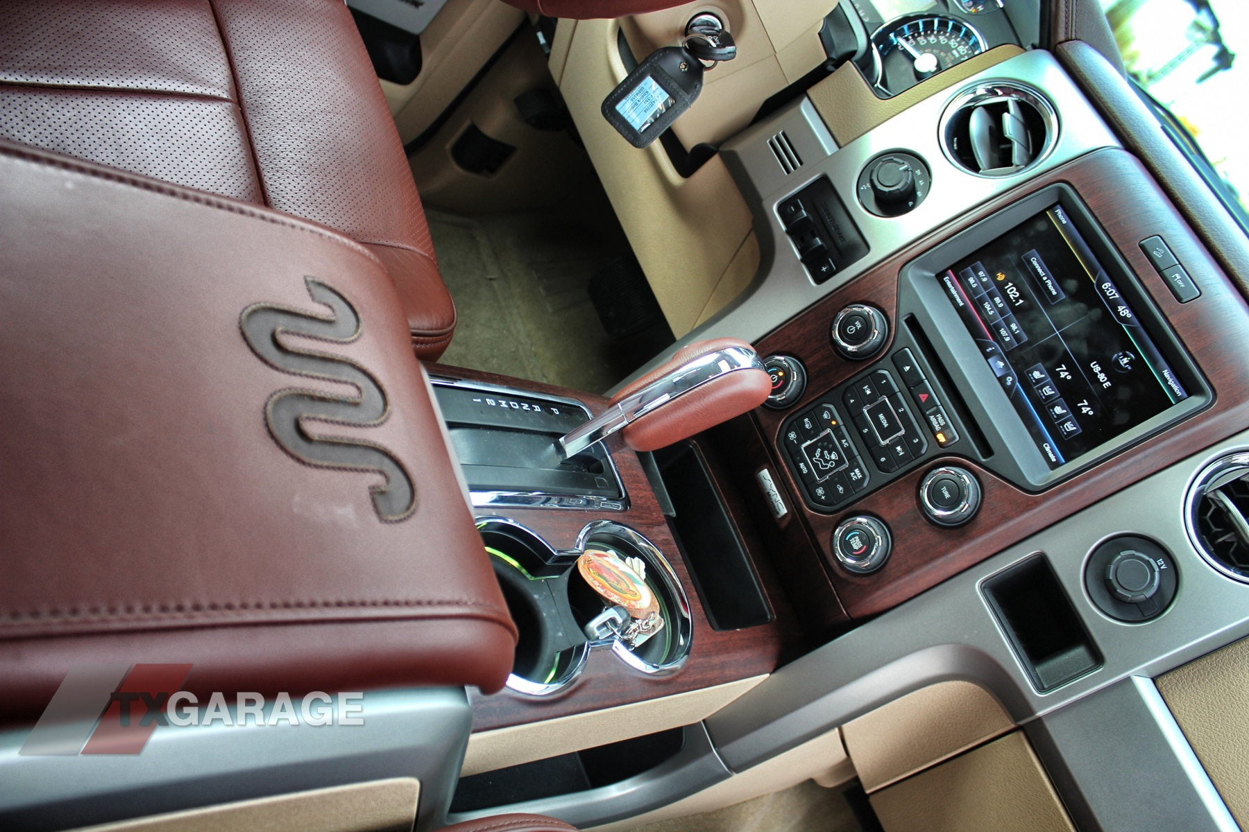 2014 Ford F150 King Ranch Interior The Image Kid Has It