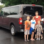 Big Families Deliver Big Kudos to Nissan's NV3500 Passenger Van